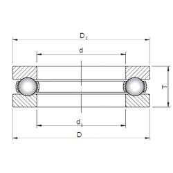 ISO 51434 thrust ball bearings