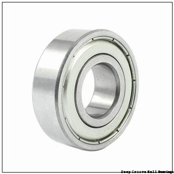 3 mm x 13 mm x 5 mm  ISO F633 deep groove ball bearings