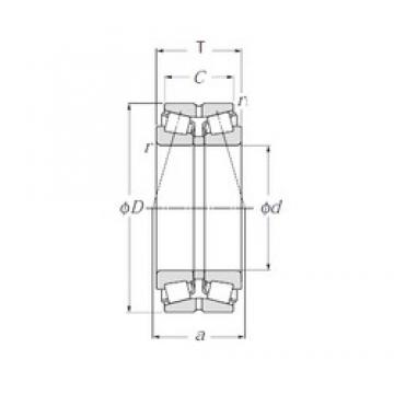NTN 413084 tapered roller bearings
