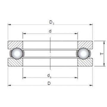 ISO 51108 thrust ball bearings