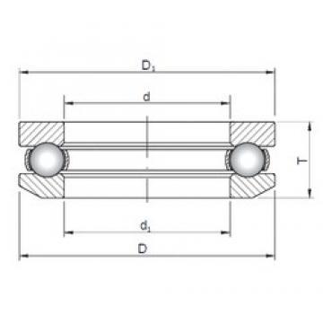 ISO 53314 thrust ball bearings