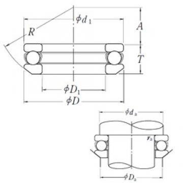 NSK 53205 thrust ball bearings