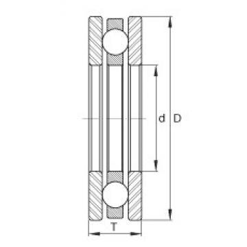 INA DM35 thrust ball bearings