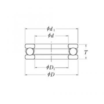 RHP MT5.1/2 thrust ball bearings