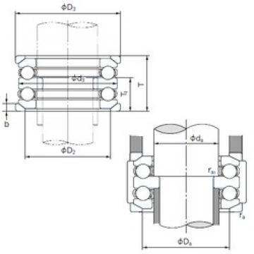 NACHI 54205U thrust ball bearings
