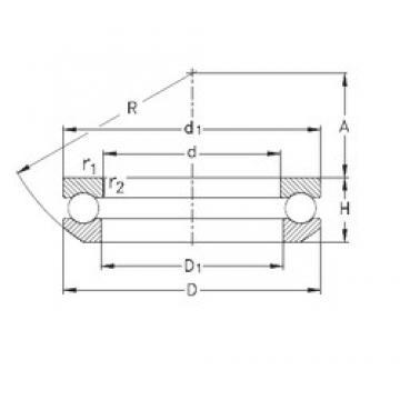 NKE 53305 thrust ball bearings