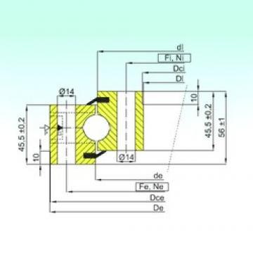 ISB NB1.20.0314.201-2PPN thrust ball bearings