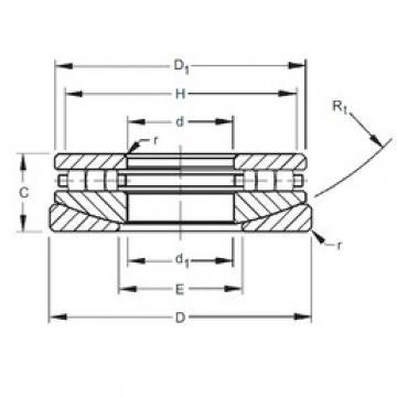 Timken 100TPS144 thrust roller bearings