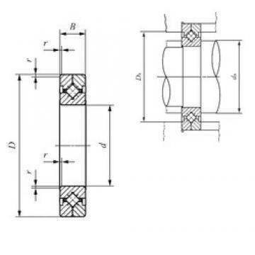 150 mm x 230 mm x 30 mm  IKO CRBC 15030 thrust roller bearings
