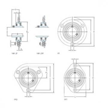 SKF PF 30 TR bearing units
