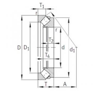 INA 29260-E1-MB thrust roller bearings