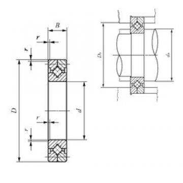 300 mm x 395 mm x 35 mm  IKO CRB 50050 thrust roller bearings
