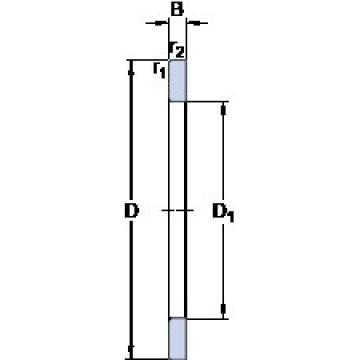 SKF GS 81138 thrust roller bearings