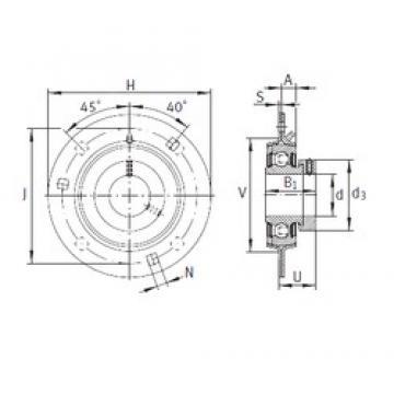 INA GRA35 bearing units