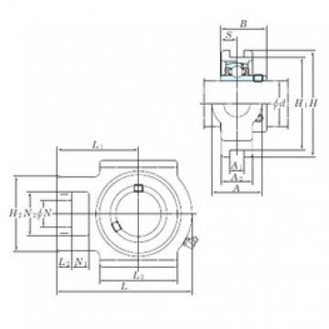 KOYO UCT310 bearing units