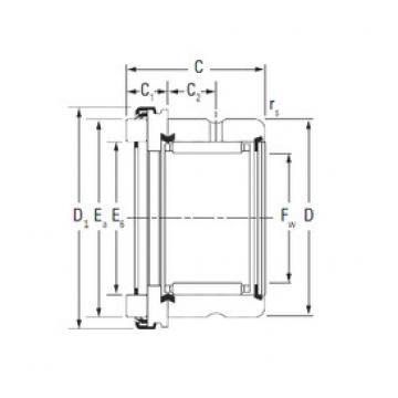 Timken RAX 535 complex bearings