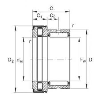 INA NKXR35-Z complex bearings