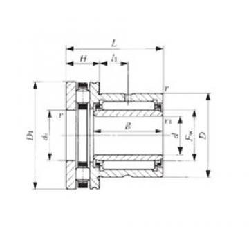 30 mm x 47 mm x 20 mm  IKO NBXI 3030 complex bearings