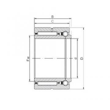 45 mm x 68 mm x 30 mm  ISO NKIB 5909 complex bearings