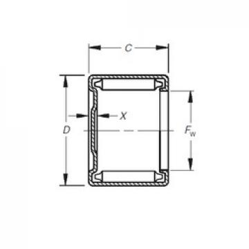 Timken M-36241 needle roller bearings