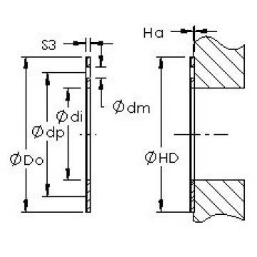 AST AST20  WC26IB plain bearings