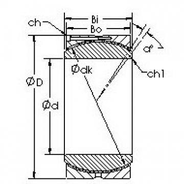 AST GEH110HC plain bearings