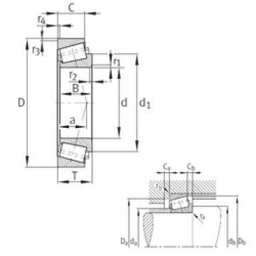63,5 mm x 112,712 mm x 30,048 mm  FAG K3982-3920 tapered roller bearings