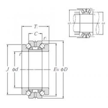 NTN 562921M thrust ball bearings