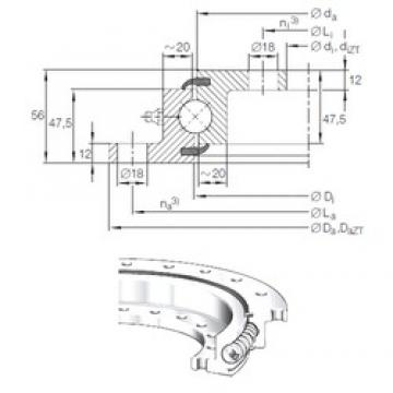 INA VLU 20 0414 thrust ball bearings