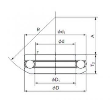 NACHI 53204 thrust ball bearings