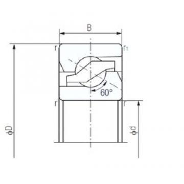 17 mm x 47 mm x 15 mm  NACHI 17TAB04 thrust ball bearings