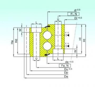 ISB EB2.25.0575.400-1SPPN thrust ball bearings