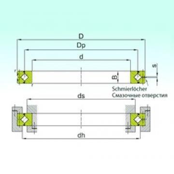 500 mm x 620 mm x 56 mm  ISB SX 0118/500 thrust roller bearings