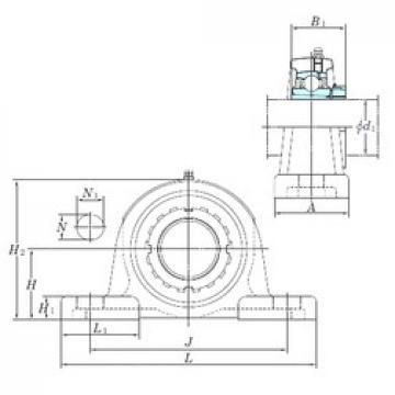 KOYO UKP315 bearing units