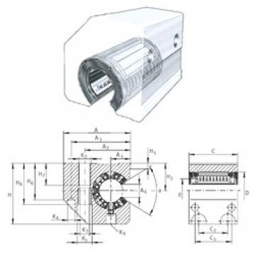 INA KGSC25-PP-AS linear bearings