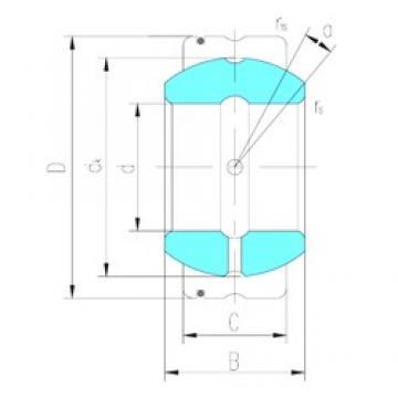 15 mm x 26 mm x 13 mm  LS GE15XS/K plain bearings