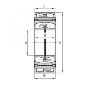 380 mm x 920,75 mm x 300 mm  FAG Z-562660.04.DRGL spherical roller bearings