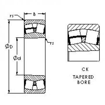 AST 23034CK spherical roller bearings