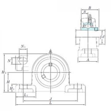 KOYO UCP206SC bearing units