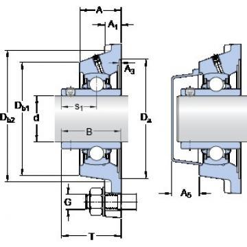 SKF FY 1.7/16 TDW bearing units
