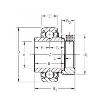 34,925 mm x 72 mm x 37,7 mm  Timken 1106KLLB deep groove ball bearings