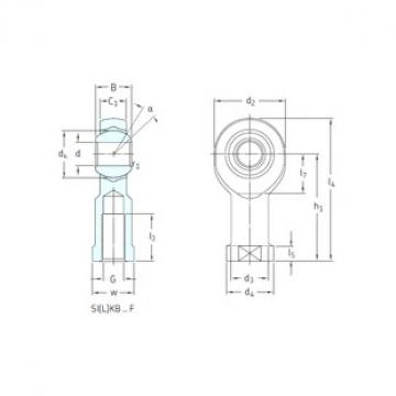 SKF SILKB18F plain bearings