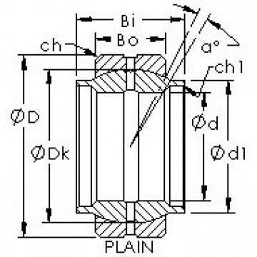 AST GEWZ38ES plain bearings