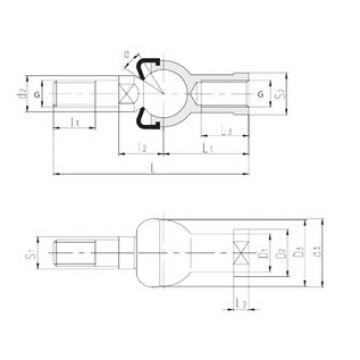LS SQZL8-RS plain bearings