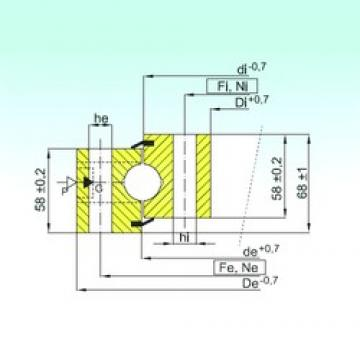 ISB NB1.25.1534.400-1PPN thrust ball bearings