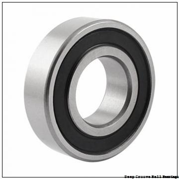2 mm x 6 mm x 3 mm  NMB RF-620ZZ deep groove ball bearings