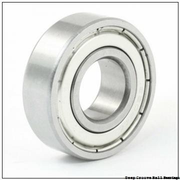 10 mm x 19 mm x 5 mm  ISO 61800 deep groove ball bearings