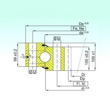 ISB ZB1.50.2800.400-1SPPN thrust ball bearings