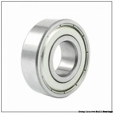 6,35 mm x 9,525 mm x 3,175 mm  ISB R168 deep groove ball bearings