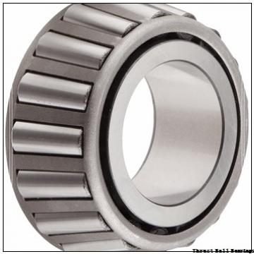 480 mm x 650 mm x 33 mm  KOYO 29296 thrust roller bearings